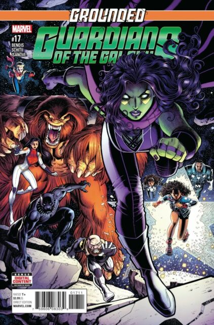 Guardians of the Galaxy #17 Marvel comic 2017