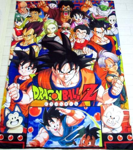 Dragonball Z Anime Manga Bettdeckenbezug Bettwäsche Polyester 150x220cm