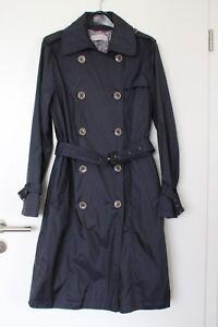 Damen-Sommerjacke-Jacke-Trenchcoat-Mantel-concept-K-dunkelblau-Groesse-38-M-neu