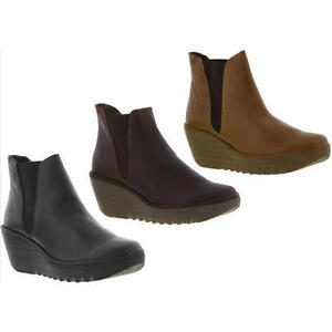 Innovative  In Pelle Chelsey Womens Brown Ankle Boots Amazoncouk Shoes Amp Bags