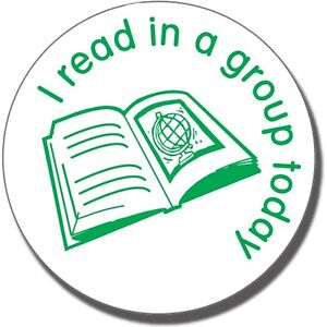 I-Read-in-a-Group-Today-School-Marking-Feedback-Stamp-For-Teachers-Children-25MM