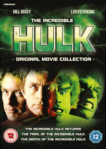 Details about The Incredible Hulk: Original Movie Collection DVD (2018)  Bill Bixby, Corea