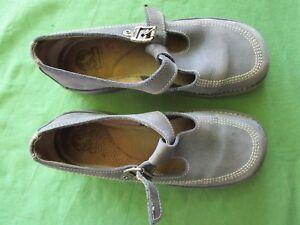 Détails sur Chaussures Sandales KICKERS cuir bleu pointure 39 Made in France
