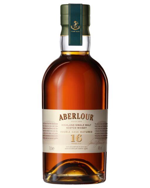 Aberlour 16 Year Old Double Cask Scotch Whisky 700mL bottle Single Malt Highland