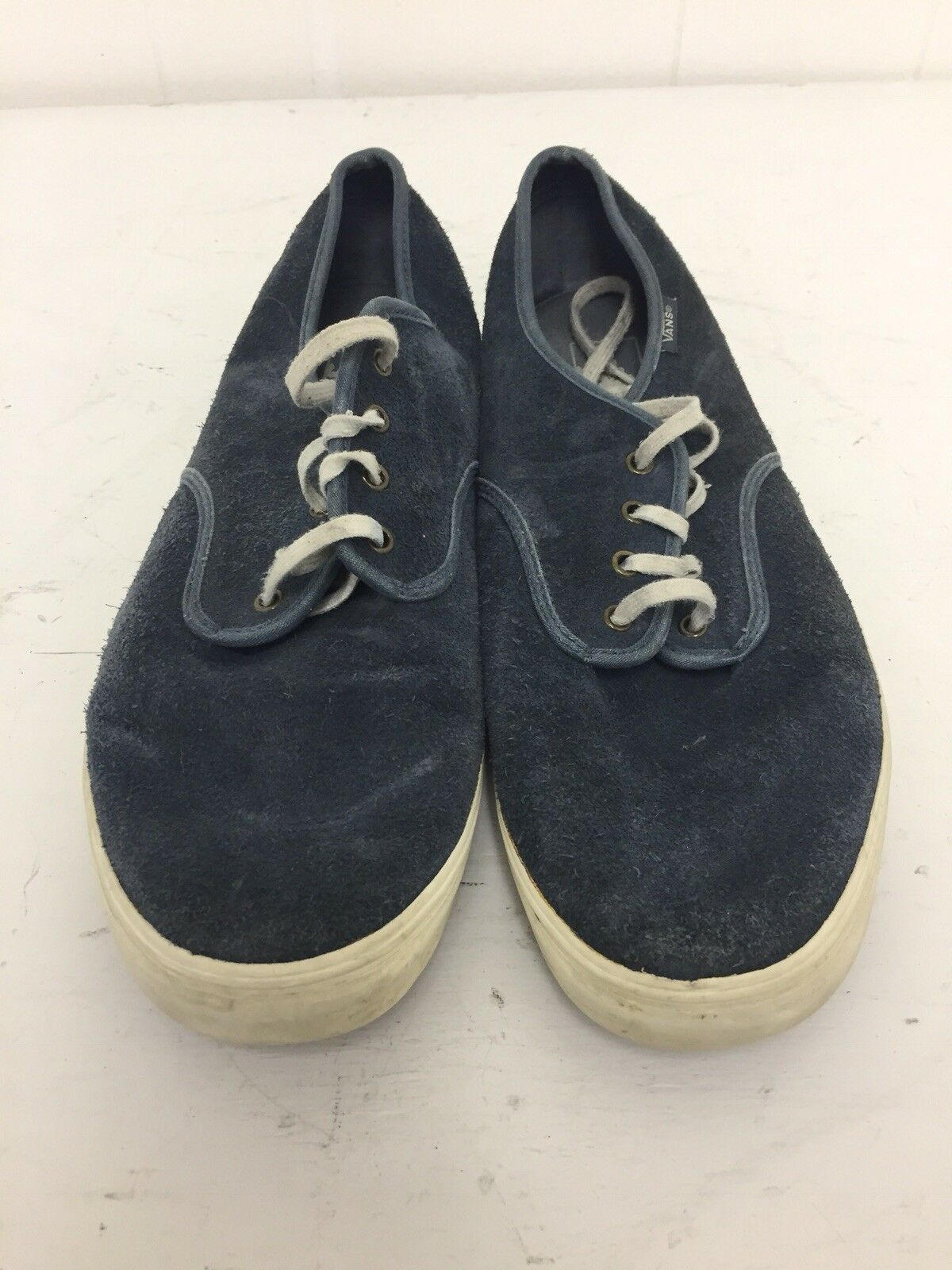bluee Suede Vans Mens Size 12 Used Great Condition