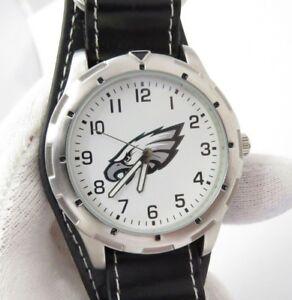PHILADELPHIA-EAGLES-NFL-Game-Time-Big-Cargo-Band-Cool-MEN-039-S-WATCH-112-L-K