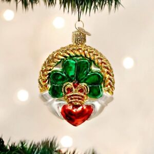 Details About Irish Claddagh Old World Christmas Ornament New Celtic