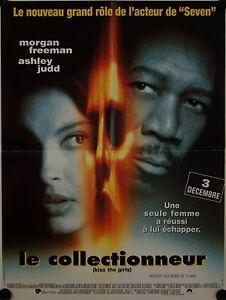 Affiche-Cinema-LE-COLLECTIONNEUR-1997-FLEDER-Freeman-Judd-60x80