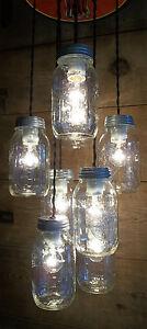 Coca Cola Chandelier Coke Mason Jar Ceiling Light Fixture Kitchen Light Ebay