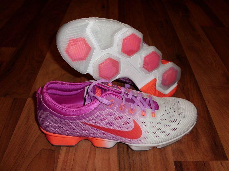 Nike Flyknit Zoom Agility Running Training Fuchsia Hot Lava femmes  SZ 6 SZ 6.5
