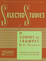 Selected Studies Cornet Or Trumpet Brass Method 004470680