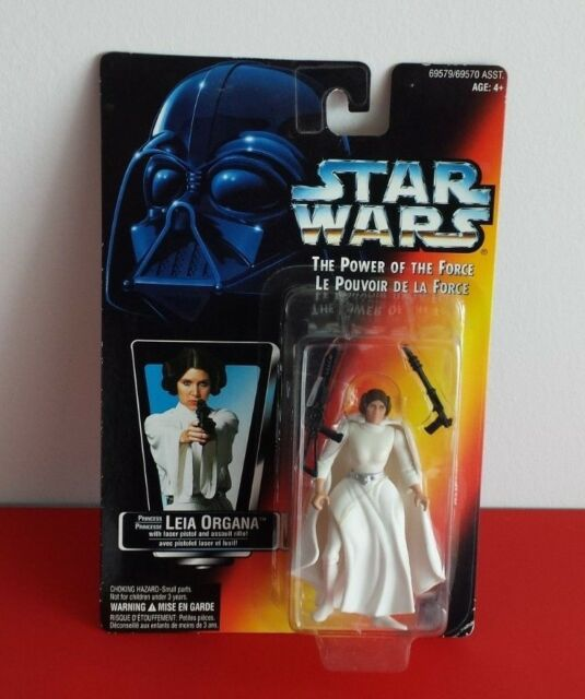 1995 Kenner Star Wars Power of the Force Princess Leia Organa
