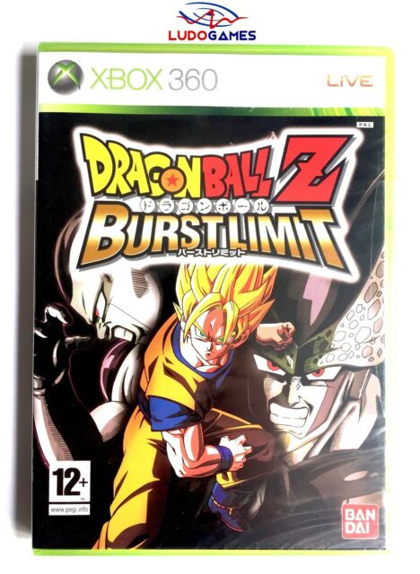 Dragon Ball Z Burstlimit Xbox 360 Nuevo Precintado Sealed Brand New PAL/SPA