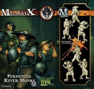 WYRD MALIFAUX WYR20716 FERMENTED RIVER MONKS (MINIATURES, TABLE TOP GAMING)