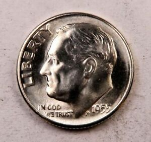 1955-D Roosevelt Dime BU uncirculated !