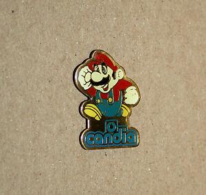 1992 Old Nintendo Super Mario Candia Pin - Deutschland - 1992 Old Nintendo Super Mario Candia Pin - Deutschland