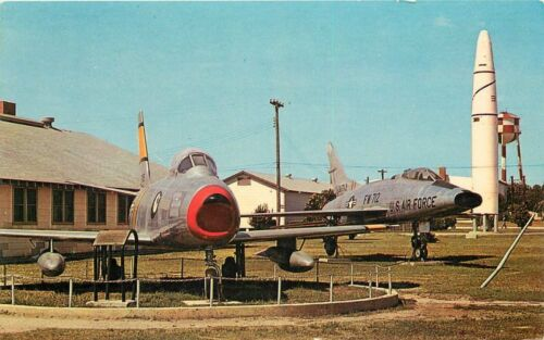 Aircraft State Display 1960s Lackland Air Force Base Weiner postcard 2208