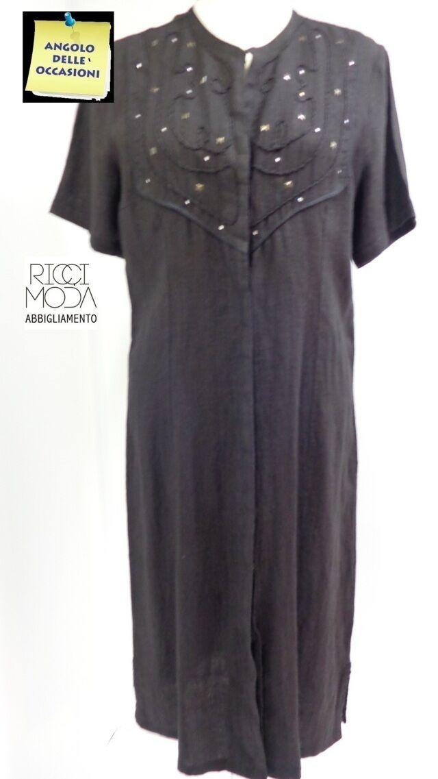 Outlet kleid frau faser natürliche komplett kleid robe vestido schwarz 210330010