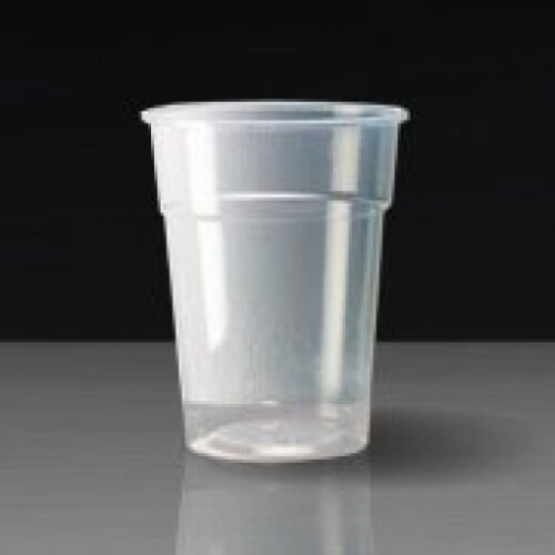 Disposable Plastic Pint//Half Pint Glasses **choose quantity**