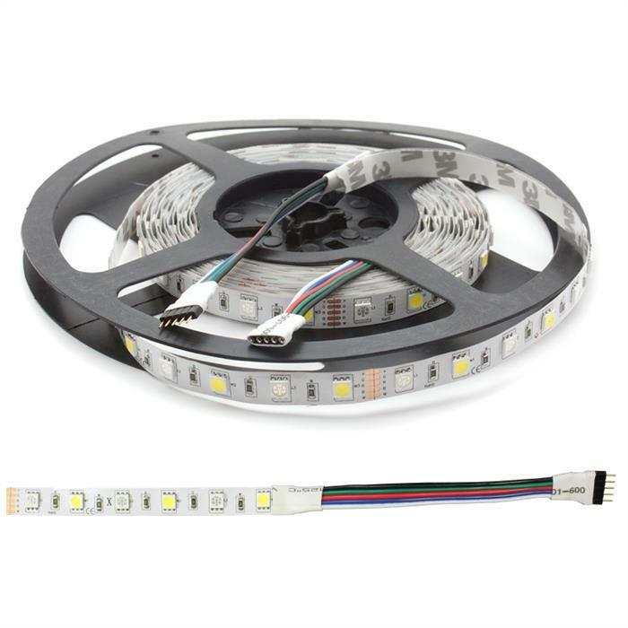 RGBW RGB+W 6000K 6000K 6000K LED Strip Striscia 500cm 5m ; 12V IP20 300LEDs 5d9944