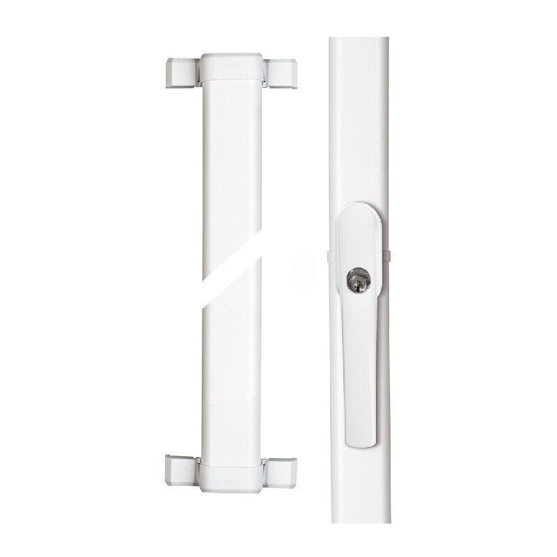 ABUS Fenster-Stangenschloss FOS 550 weiß - 1 x FOS550 mit 1,18 1,18m Stangenset