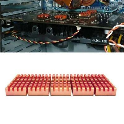 10Pcs//Set Copper 12*14*5.5mm for DDR DDR2 DDR3 RAM Memory Heatsink Radiator