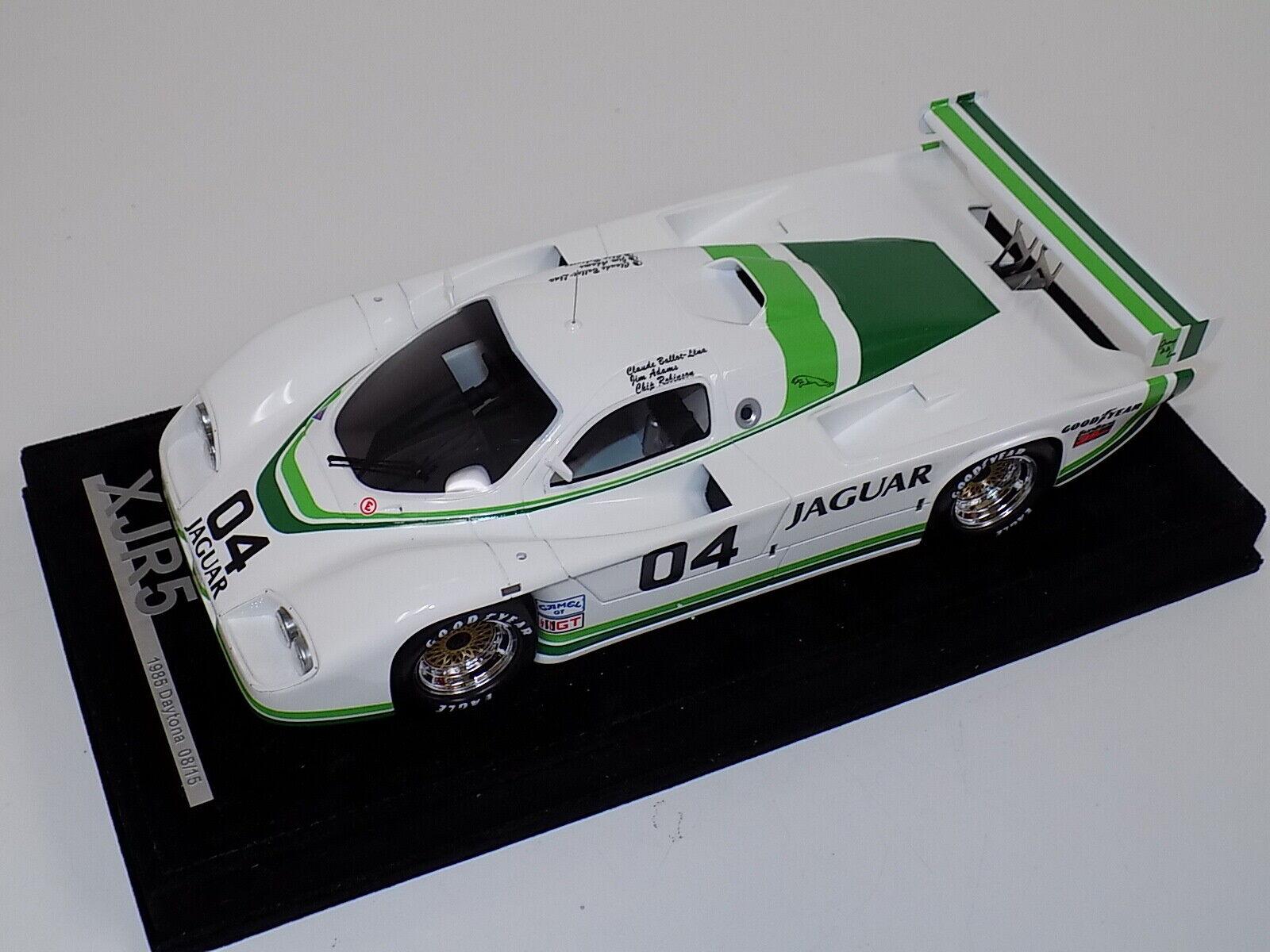 1 18 AB Modèles Jaguar XJR5 1985 24 H DE DAYTONA voiture  04 Night Time version