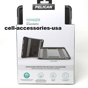 the best attitude bd2ff eb7c9 Details about New Pelican Voyager Case with Kickstand for Apple 11-inch  iPad Pro 3rd Gen