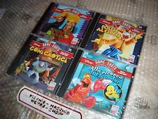 LOTTO DI 4 Videogiochi Disney X BAMBINI Game Shots PC Windows TOY STORY NUOVI!