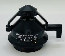 Nikon Achr 090 Swing Out Microscope Condenser Labophot Optiphot Alphaphot