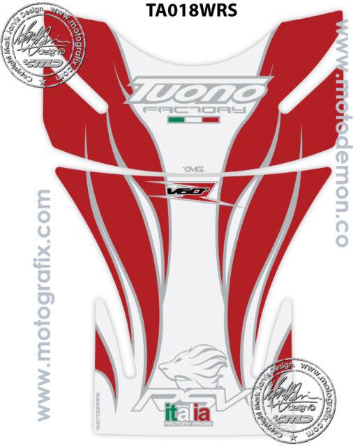 Aprilia Tuono 06 07 08 09 10 11 Motorcycle Tank Pad Motografix 3D Gel Protector