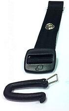 NEW QUINNY  SEAT BELT EXTENSION HARNES STRAP BLACK 15cm BUZZ ZAPP ZAPP XTRA  1X
