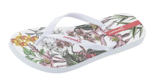 Ipanema Botanicals Profumo Da Donna Bianco Infradito Piscina Spiaggia Sandali Fiore