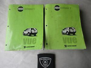2004 saturn vue service shop repair manual 2 volume set factory oem rh ebay com repair manual for 2004 saturn ion