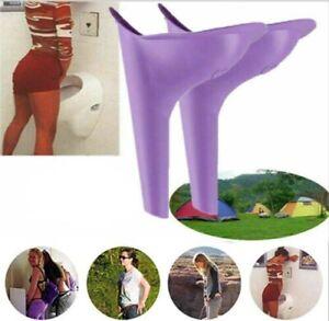 Female Urination Device Women Pee Funnel Portable Silicone