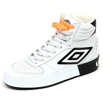 new arrivals 9c237 307a4 F6054 sneaker uomo off white/black UMBRO scarpe basket shoe man | eBay