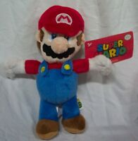 Nintendo Super Mario Bros. Soft Mario 8 Plush Stuffed Animal Toy W/ Tag