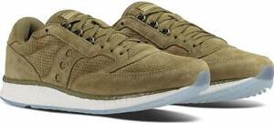 Saucony-Herren-Freedom-Runner-Leder-Niedrig-Top-Schnueren-Running-Sneaker