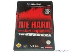 # le HARD: vendetta-MUORI lentamente Nintendo GameCube Gioco // GC & Wii #