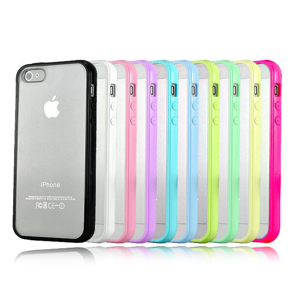 For Apple iPhone 4 4S 4G 4GS NEW Top Grade Hard MATTE PC & Soft GEL Cases Cover