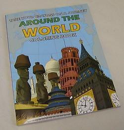 Around The World Coloring Book Magic Trick Ebay