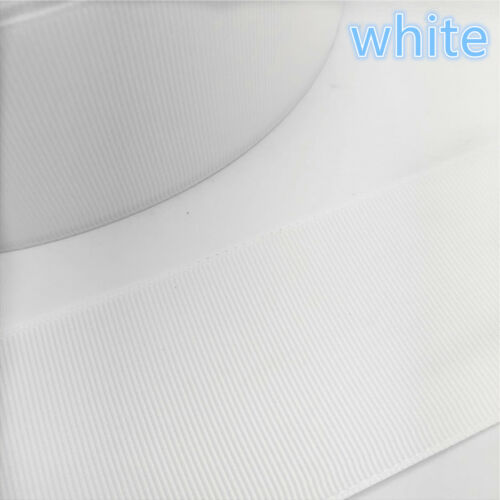 New 10//15//20//25//40//50MM Width Grosgrain Ribbed Belt Multi-Purposes Wedding Party