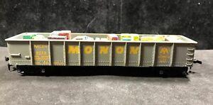HO Monon Gondola Mixed Load 100% Tested & Refurbished Lot U46