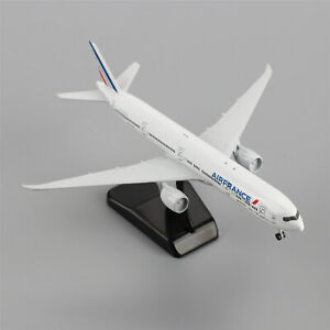 20cm-BOEING-777-300ER-Air-France-Airlines-Aircraft-Plane-Diecast-Model
