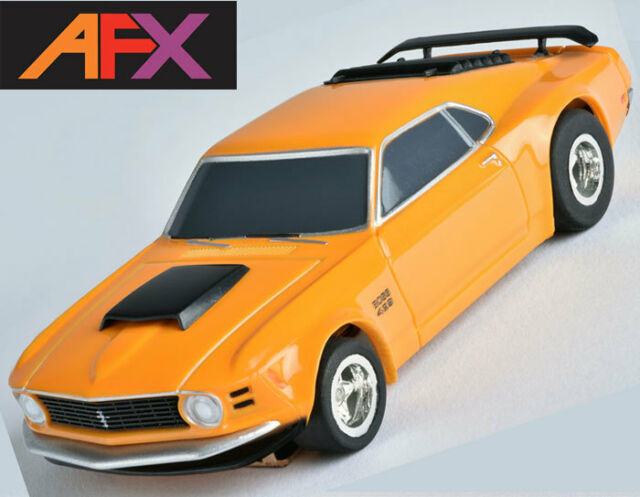 AFX Ford Mustang Boss 429 HO Slot Car Mega G Me Tomy Autoworld ...