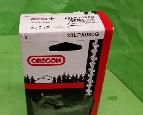 2-Oregon saw chain 20LPX 325 .050 80 links 20LPX080G
