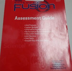 Grade 6 Science Fusion Texas Assessment Guide + Answer Key