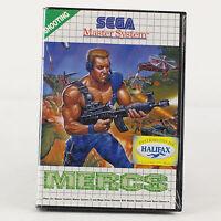 Sega Master System ►spiel► Mercs ► Komplett►neu►verschweisst◄