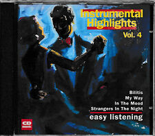 Strumentale highlights vol.4 - EASY Listenings/Bilitis, My Way,... CD NUOVO + OVP!