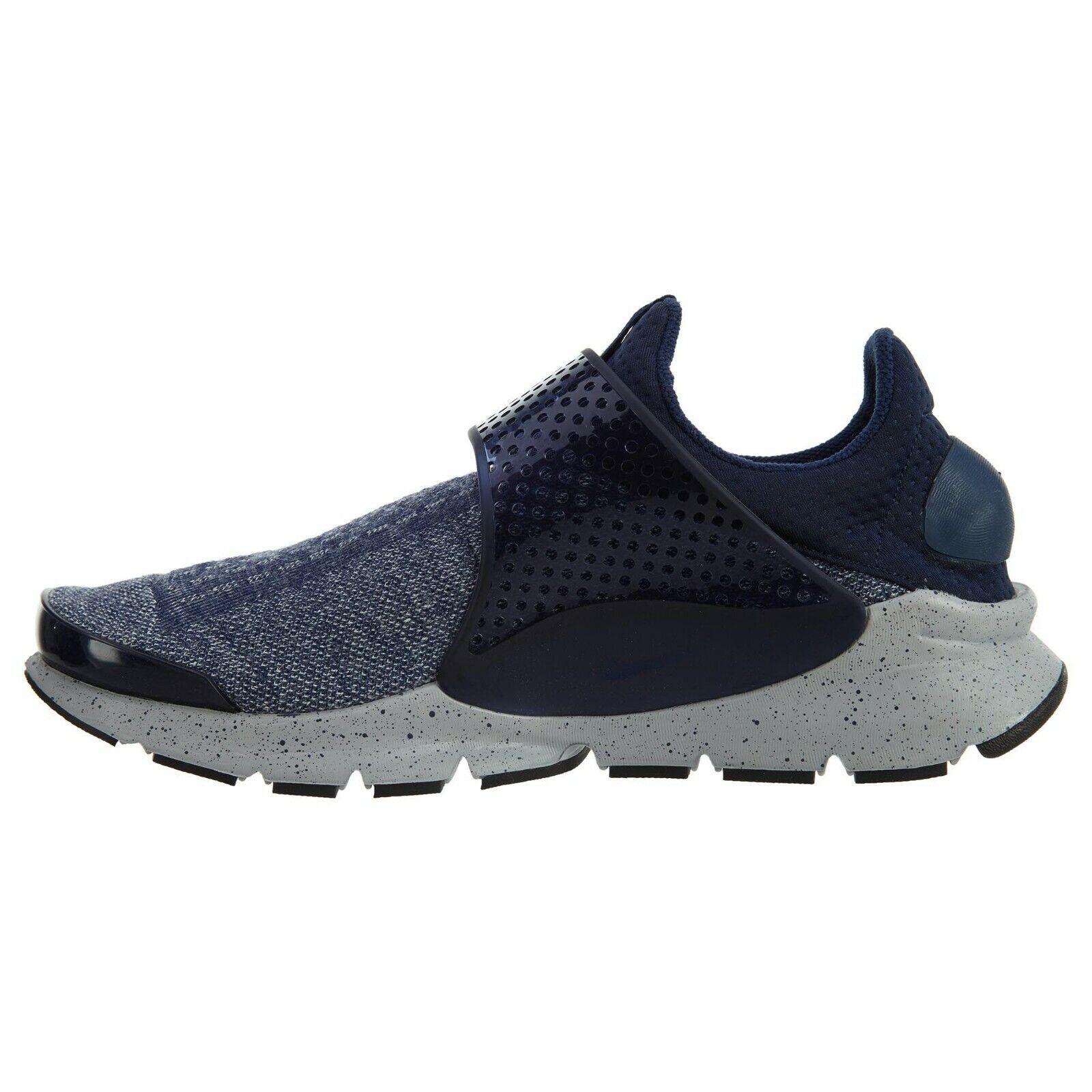 Nike Sock Dart SE Premium Mens  Running Midnight Navy Mult Dimensiones 855553 400  in vendita